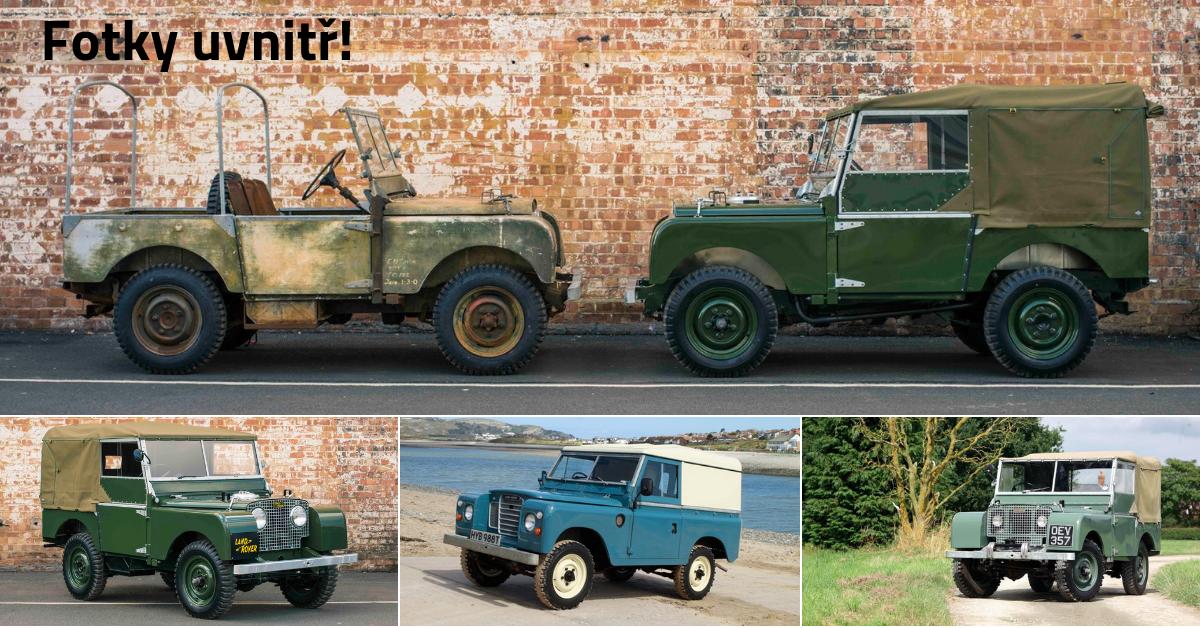 Land Rover první série - nesmrtelný dříč ve službách státu