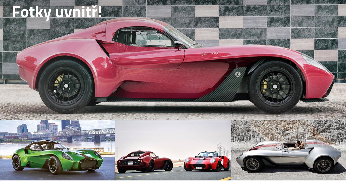 Jannarelly Design-1: Supersportovní auta z daleké Arábie