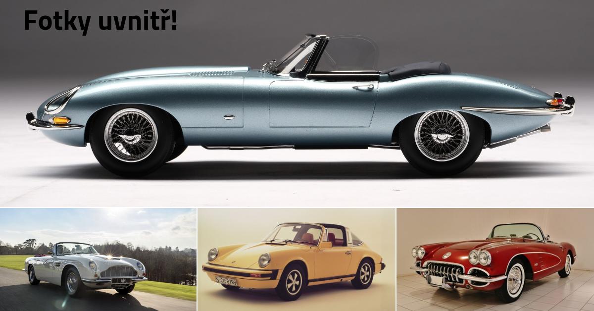 10 nejkrásnějších kabrioletů od 30. let až do současnosti