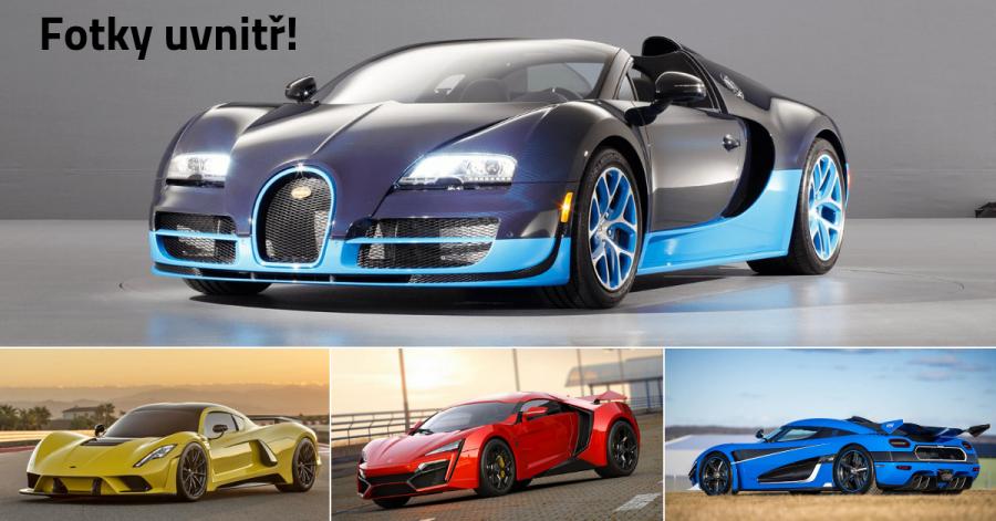 10 nejrychlejších sériově vyráběných supersportů