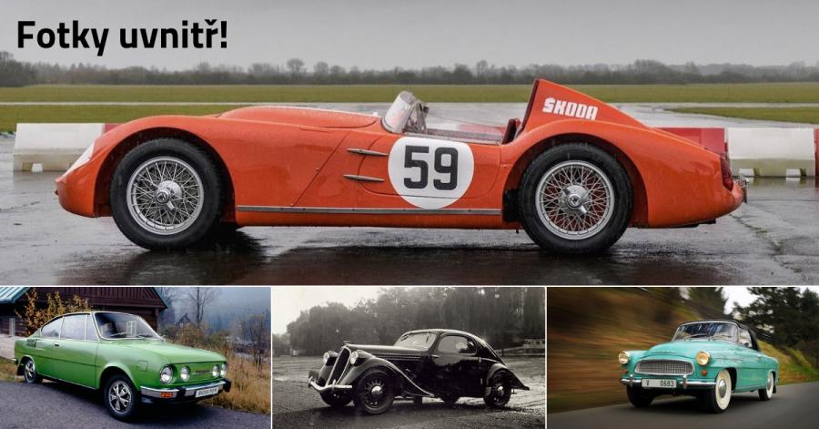 10 nejkrásnějších aut v historii Škoda Auto