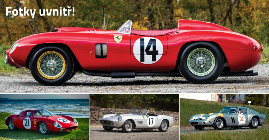 10 nejdražších Ferrari na světě