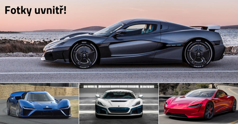 7 nejrychlejších elektromobilů na světě