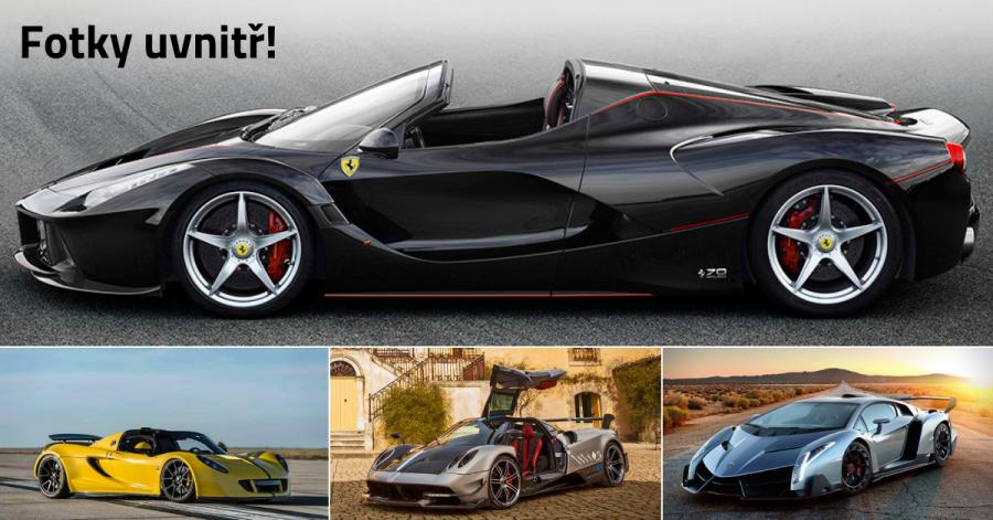 17 nejdražších luxusních vozidel na světě