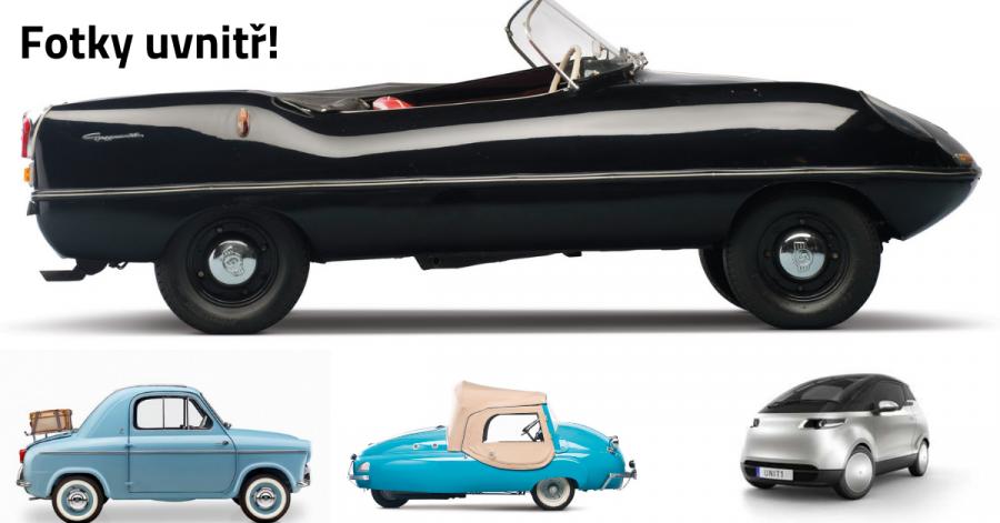 30 nejmenších aut na světě v celé historii - 1. část