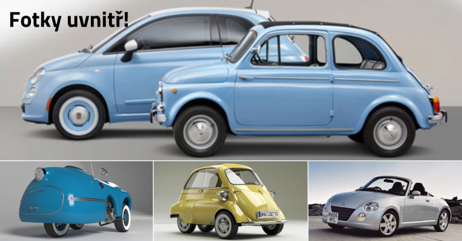 30 nejmenších aut na světě v celé historii - 2. část