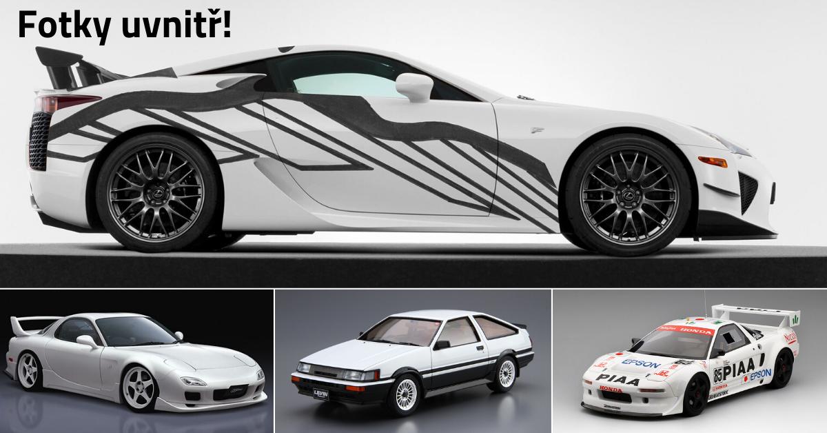 15 nejlepších a nejkrásnějších japonských aut