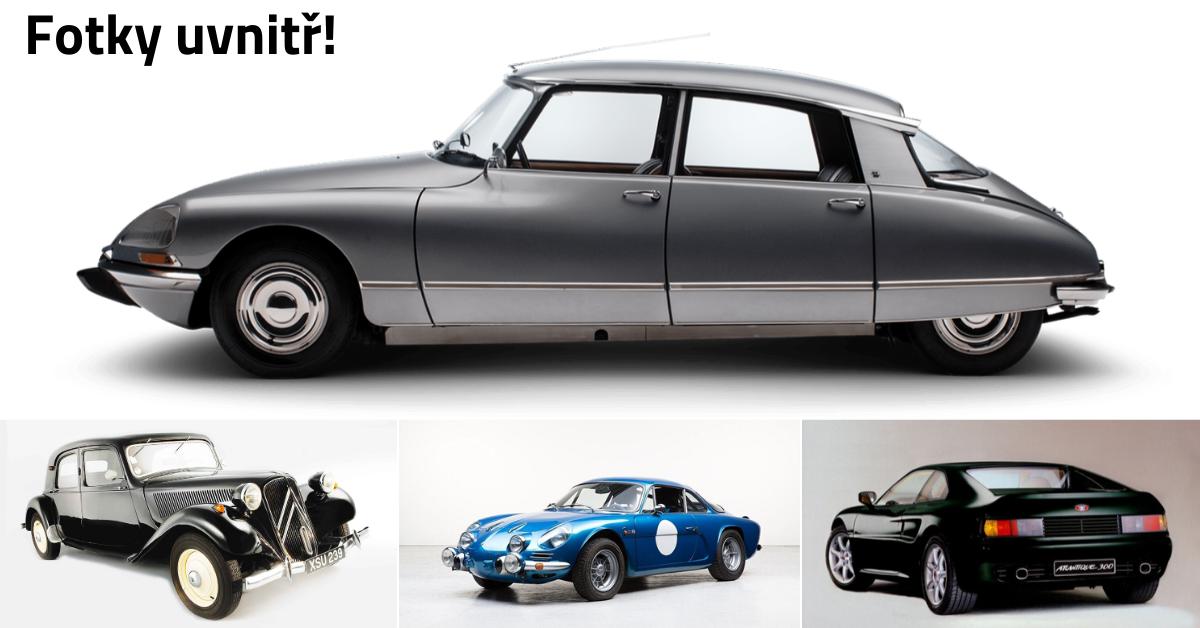 11 nejlepších a nejkrásnějších francouzských aut v historii
