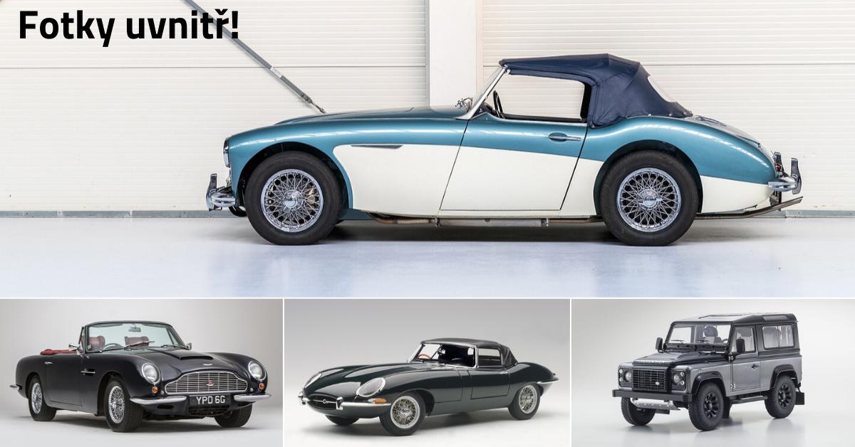 10+1 nejkrásnějších britských aut v celé historii