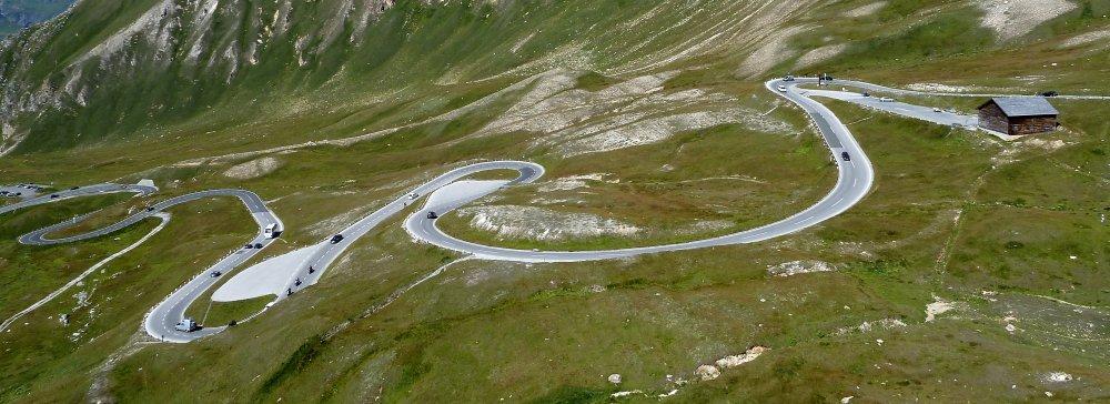 Grossglockner vysokohorská silnice