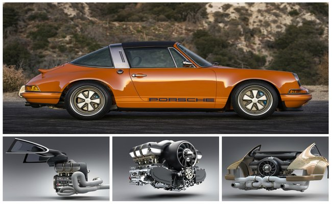 Singer, Williams a Hans Mezger vyvíjí vzduchem chlazený plochý šestiválec pro kultovní Porsche 911