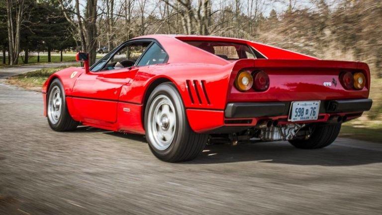 Ferrari 288 GTO - legenda, která nikdy nevjela na závodní dráhu