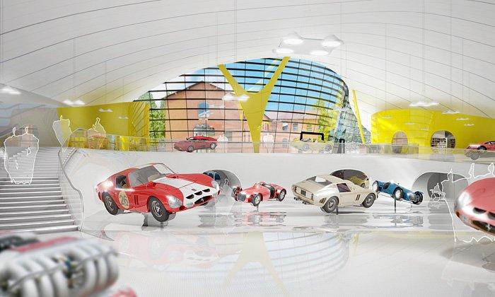 Enzo Ferrari Museum - italské muzeum, které navrhl Čech