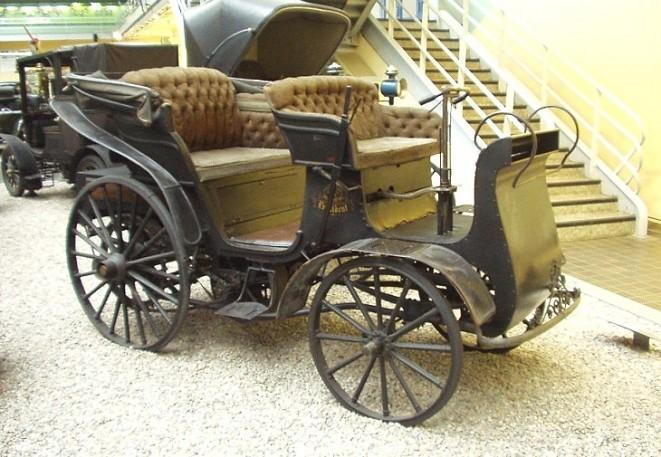 První český automobil NW Präsident