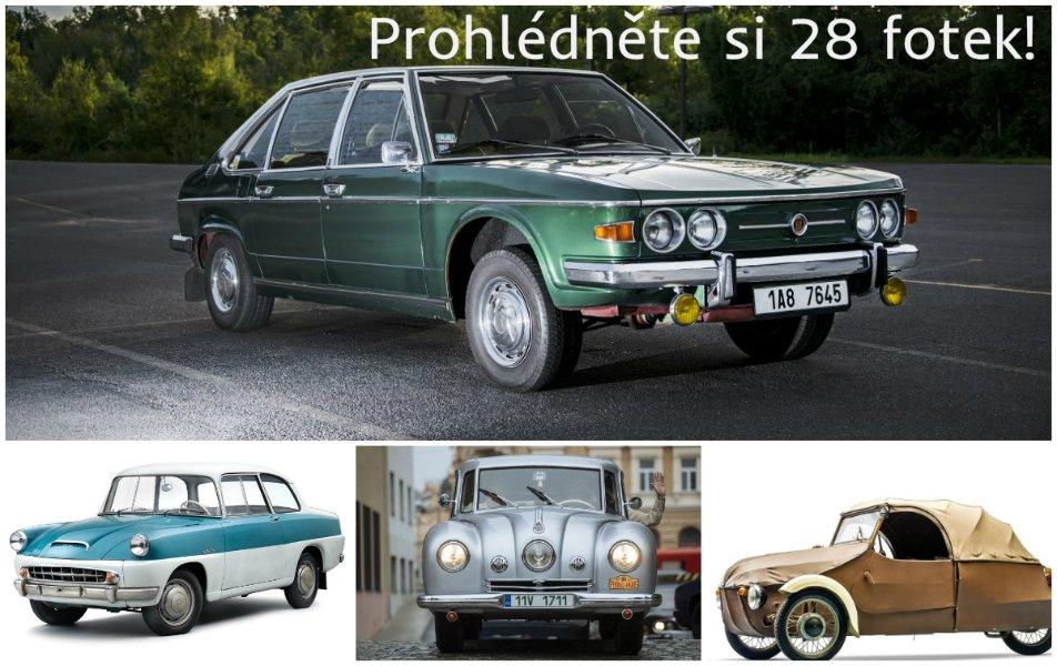 5 jedinečných českých aut, na která nelze zapomenout