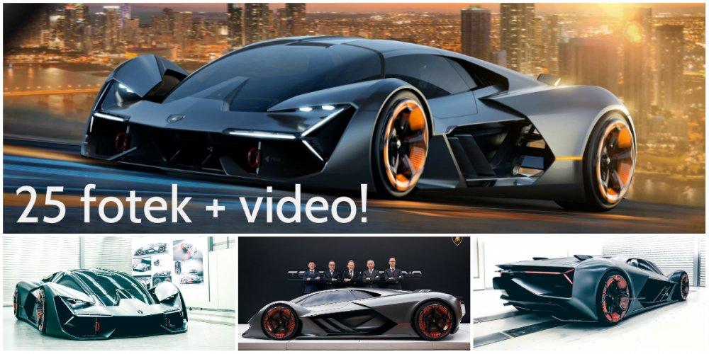 Lamborghini Terzo Millennio - supersport pro třetí tisíciletí