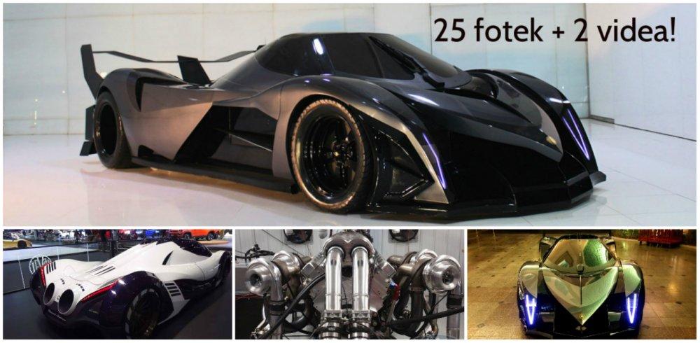 Překoná supersport Devel Sixteen rychlost 500 km/h?