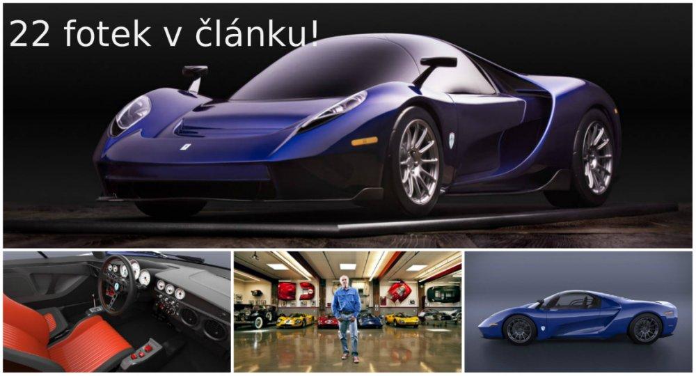 Miliardář navrhl svůj druhý supersport - SCG 004S