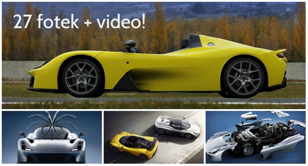 Slavný výrobce formulí Dallara vyrobil první vůz, který smí na silnice. A je opravdu úžasný