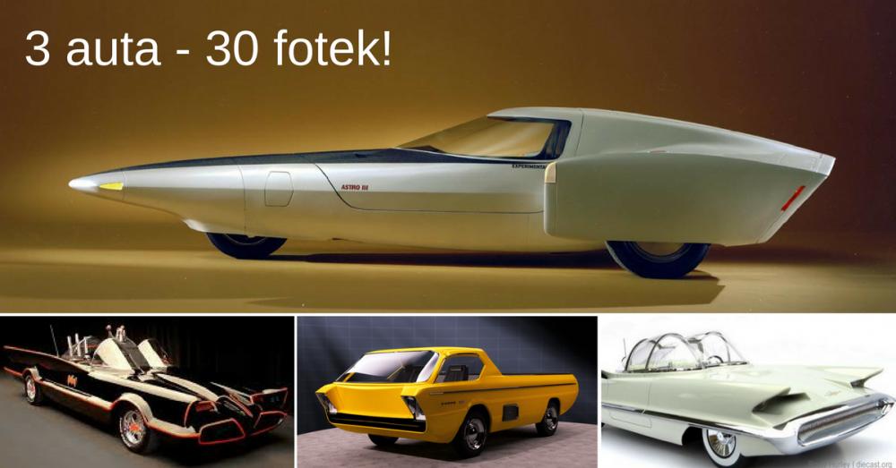 3 nejvíce ulítlé prototypy aut z 50. a 60. let